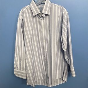 English Laundry Striped Button Down